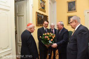 Z wizytą u ks. Stanisława Kardynała Dziwisza